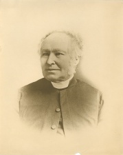 The Rev. Featherstone Osler. First resident clergyman in West Gwillimbury.