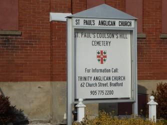 st pauls church sign
